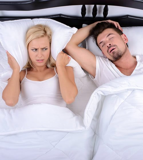 Wife Can't sleep Due to Husband's Sleep Apnea